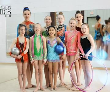 Burlington Gymnastics Club - promo video