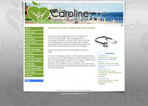 Caroline Family Health Team of Burlington website