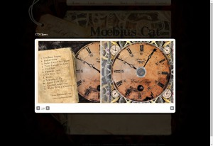 Moebius Cat CD artwork showcase