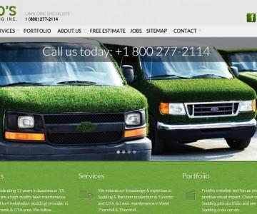 Niko's Gardening homepage