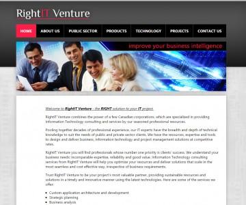 RightIT Venture corporate website