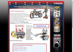 Tirox website
