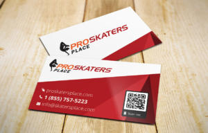 ProSkaters Place Branding Business Card