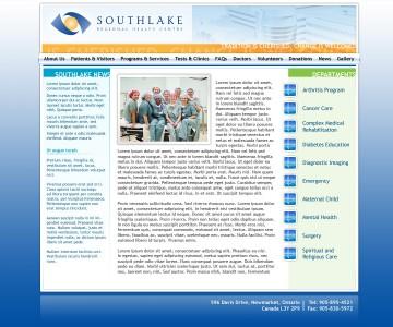 Southlake Regional Health Centre design