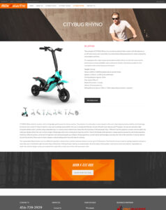 Ride it Electric - Product page