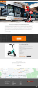 Ride it Electric - Homepage