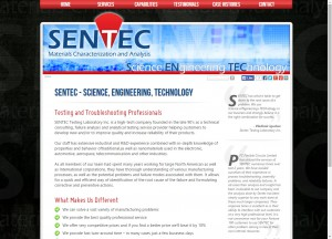 SenTec corporate website
