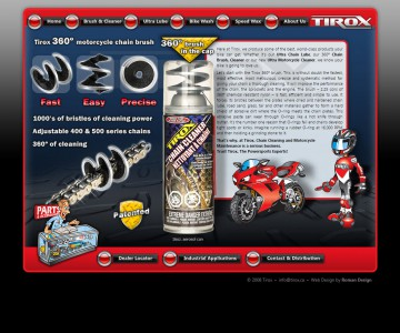 Tirox website