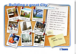 City of Toronto - Building a Great City