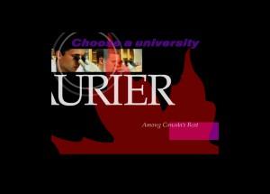 Wilfrid Laurier University Webmercials